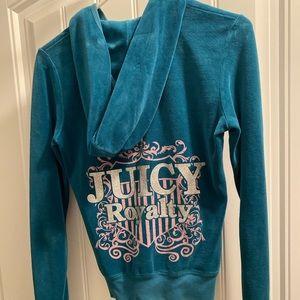 Juicy couture velour sweatshirt hoodie pullover